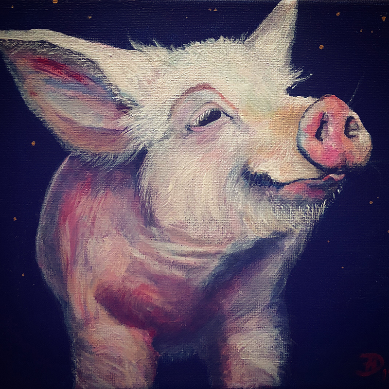 "PIG PIECES X, ""Jossele"""
